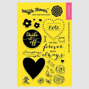 Waffle Flower Stamp DT Mix