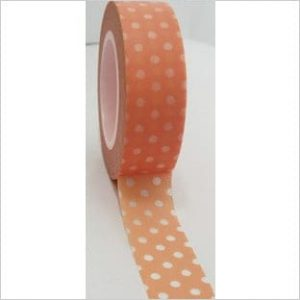 Freckled Fawn Washi Tape Dots Peach