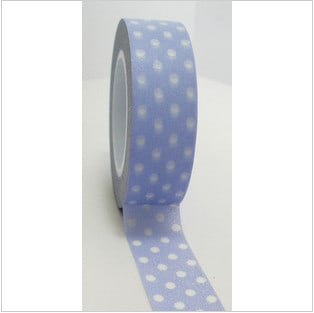 Freckled Fawn Washi Tape Dots Blue
