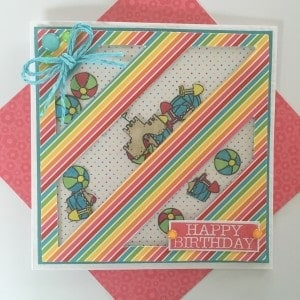 Sweet Stamp Shop Shaker Card