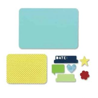 Sizzix Life Made simple Rachael Bright Basics Dies