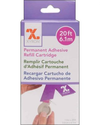 Xyron 150 Refill Cartridge - Permanet Adhesive 6.1m