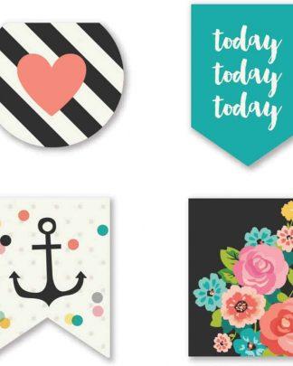 Simple Stories Carpe Diem Magnetic Page Markers