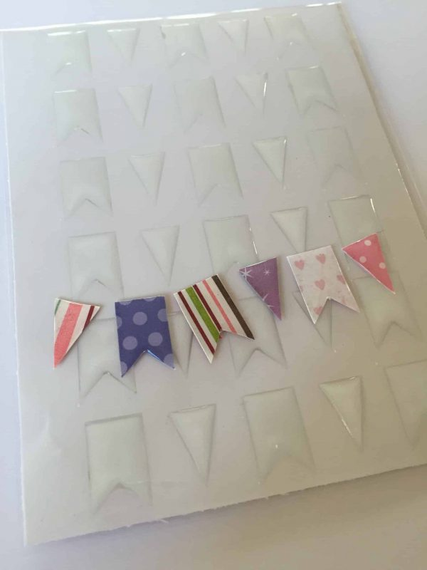 Clear Epoxy Stickers Bannerss