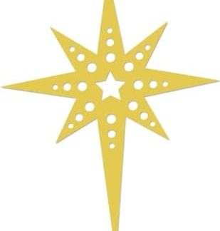 Kaisercraft Decorative Die Fancy Star