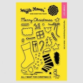 Waffle Flower Crafts Stocking Stamp Set