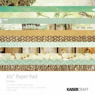 Kaisercraft 6.5 Paper Pad and Collectables Paradiso