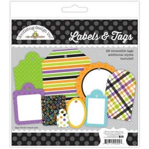 Doodlebug Design Label and Tags Boos & Brews