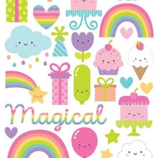 Doodlebug Design 6x12 Icon Stickers Fairy Tales