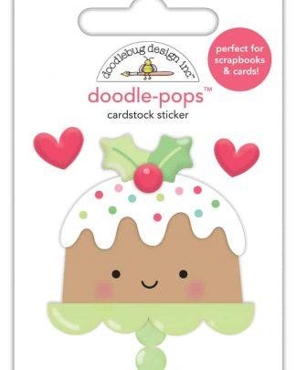Doodlebug Design Doodle Pops Christmas Cake
