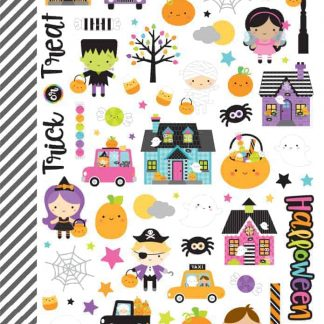 Doodlebug Design Booville Mini Icon Stickers