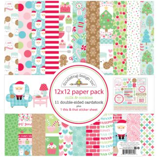 Doodlebug Design Milk & Cookies 12x12 Paper Pack