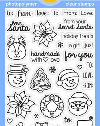 Sunny Studio Clear Stamp Christmas Icons