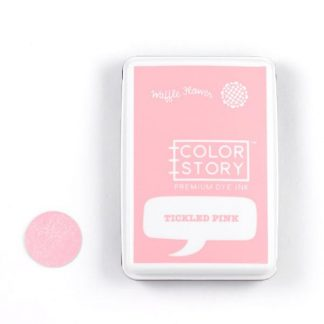 Waffle Flower Crafts Dye Ink Pad Tickled Pink