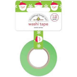 Doodlebug Design Washi Tape Sweet Santas