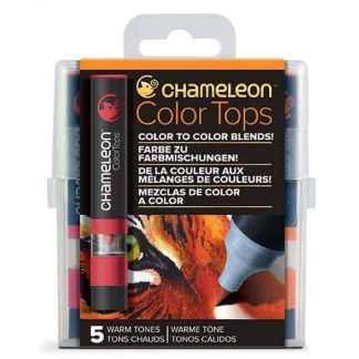 Chameleon Color Tops 5 Pen Set Warm Tones