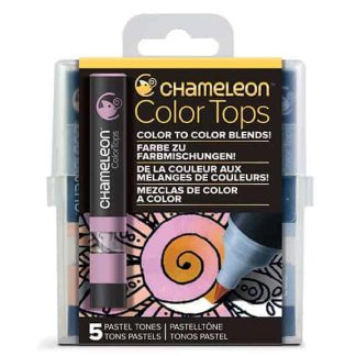 Chameleon Color Tops 5 Pen Set Pastel Tones
