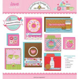Doodlebug Design Love Card Kit