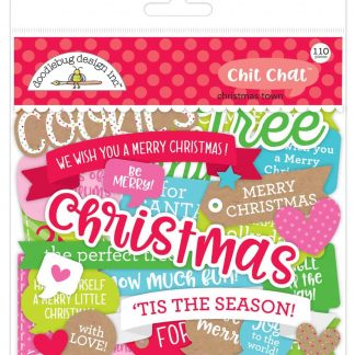 Doodlebug Design Chit Chat Christmas Town