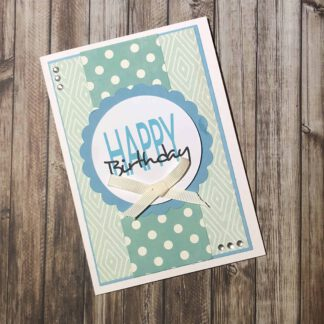 Handmade Card Kit Happy Birthday B