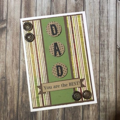 Handmade Card Kit Male A