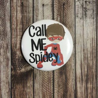 Handmade Pin Badge Spiderman