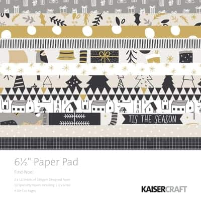 Kaisercraft 6.5 Paper Pad and Collectables