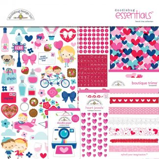 Doodlebug Design Essentials Kit French Kiss