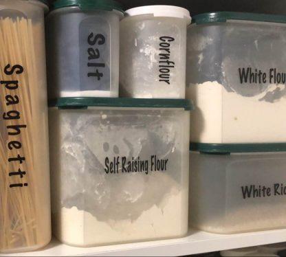 Self Adhesive Pantry Labels