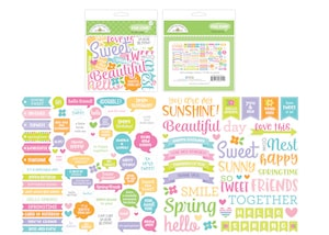 Doodlebug Design Chit Chat Simply Spring