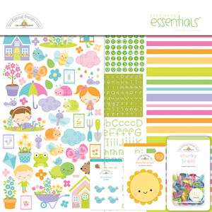 Doodlebug Design Essentials Kit Simply Spring