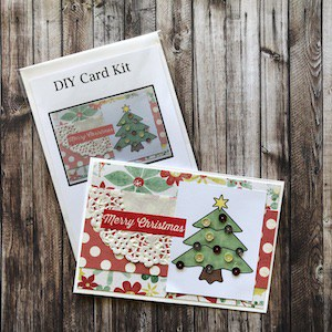 DIY Card Kit Christmas Tree