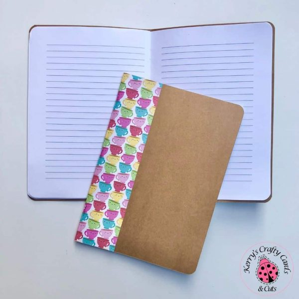 A5 Notebooks Tea cup Lined