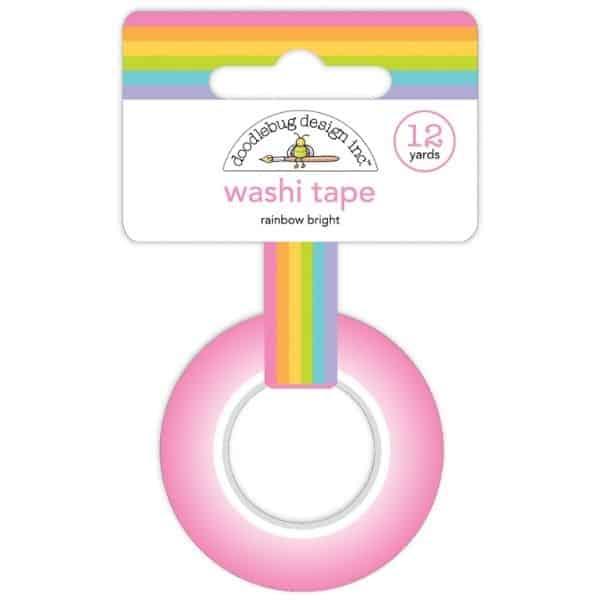 Doodlebug Design Washi Tape Rainbow Bright